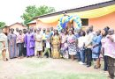 Commissioning of a 10-seater toilet facility Adjiringanor Adma Basic School in the Adenta Municipality, Accra.